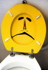 artistic toilet