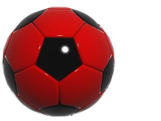 black red football soccer design
