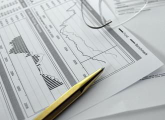 finances, graphiques, statistiques