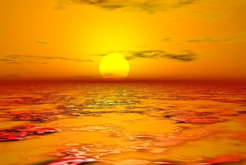 sun and fire water