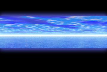blue paradise banner