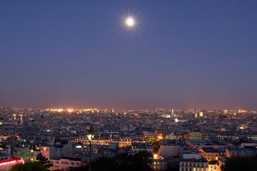 pleine lune parisienne