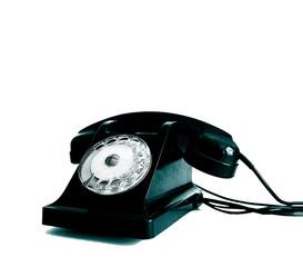 telephone à cadran.