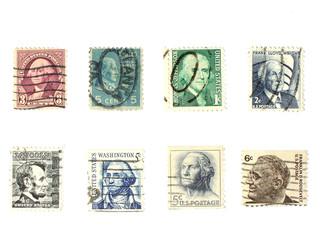 stamps: us vintage stamps - people