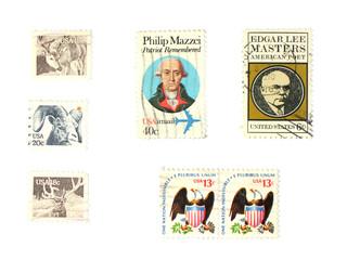 stamps: us vintage stamps