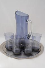 jug and glasses