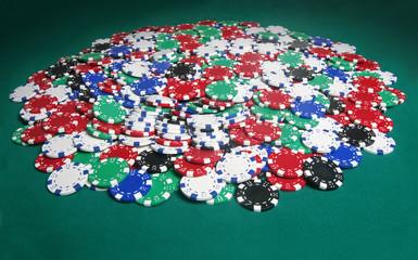 huge poker pot