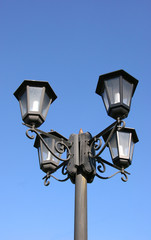 street lights in moscow