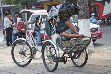 biketaxi resting