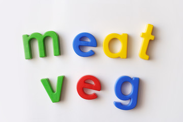 meat and veg