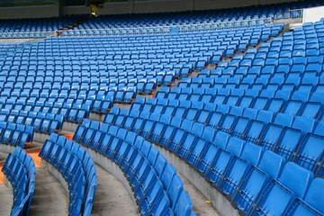Photo sur Aluminium Stade de football stadium seats