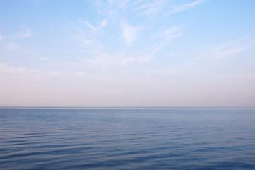 summer morning seascape