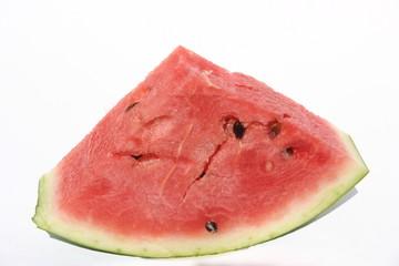 cut watermelon triangle