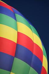 hot air balloon closeup