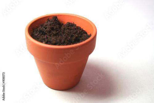 pot de fleur en terre cuite photo libre de droits sur la banque d 39 images image. Black Bedroom Furniture Sets. Home Design Ideas