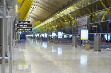 madrid airport new terminal