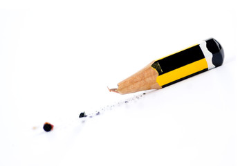 broken little pensil
