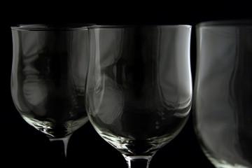 wine glasses texture