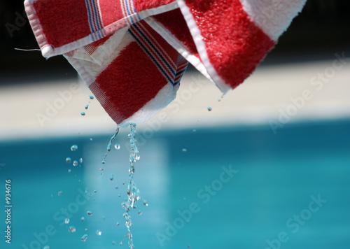 nasses handtuch