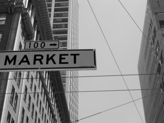 sign of the market