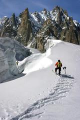 traces de skis