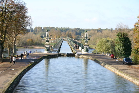 pont-canal de briare - yonne - 2005