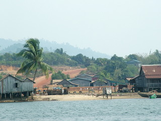 village, cambodge