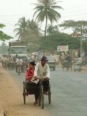 scene de rue, cambodge