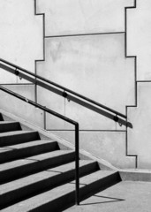 Canvas Prints Stairs jigsaw stairway 2
