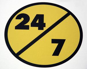 twenty four/seven