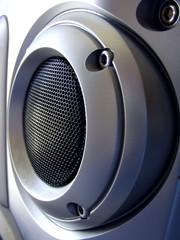 silver speaker