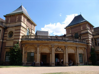 front view of eltham palace