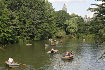 central park boats