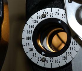 180 degree dial