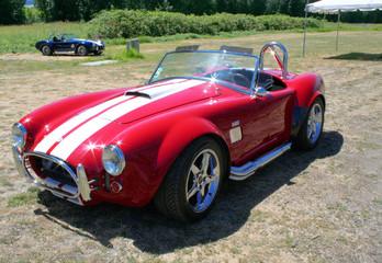 Foto op Plexiglas Oude auto s replica