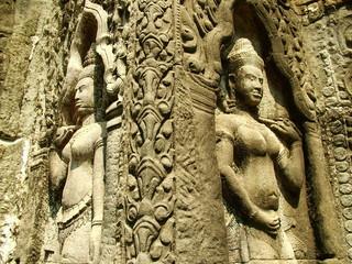 apsaras, cambodge