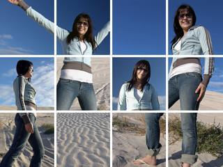sand girl montage