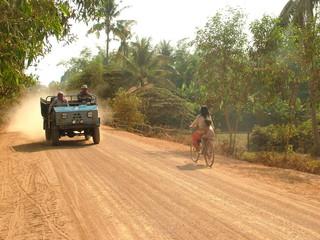 piste au cambodge