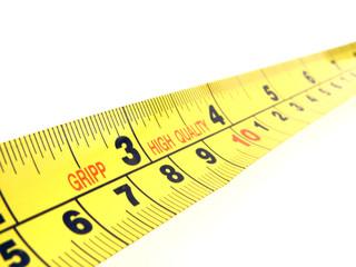 yellow tape measure macro