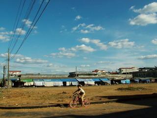 rue, cambodge
