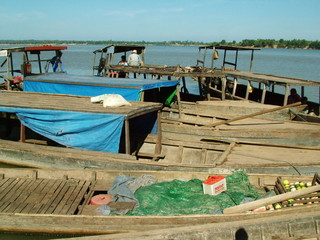 bateaux, cambodge