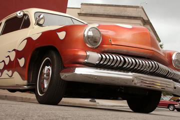 Foto op Plexiglas Oude auto s lead sled hot rod