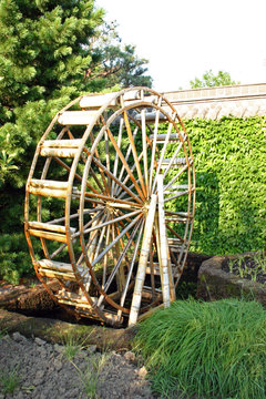 japanese watermill