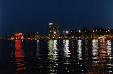 inner harbor night