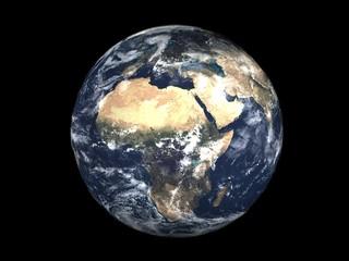 realistic 3d earth