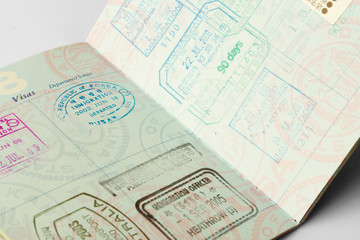 well traveled passport