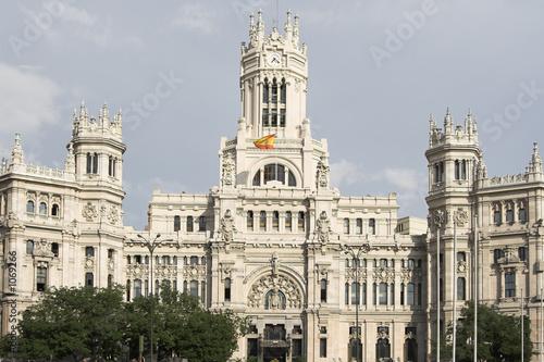 Madrid edificio de correos fotos de archivo e im genes for Edificio correos madrid