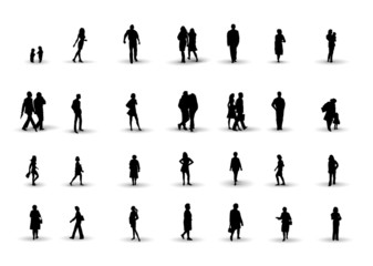 people silhouettes 1