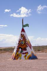 Printed kitchen splashbacks Indians indian tiipi, Arizona