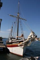 bateau sur l'hérault